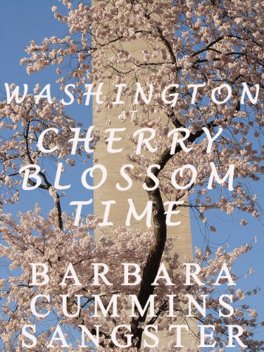 Washington at Cherry Blossom Time: Digital Art and - Postcard Photo Washington