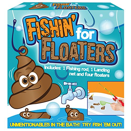 Fishin' For Floaters Bath-Time Poop Scoopin Fishing Pole ...