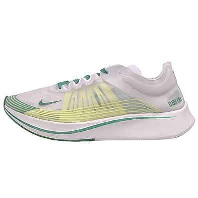 f254ef08f34 Amazon.com | Nike Men's Zoom Fly SP, White/Lucid Green-Summit White ...