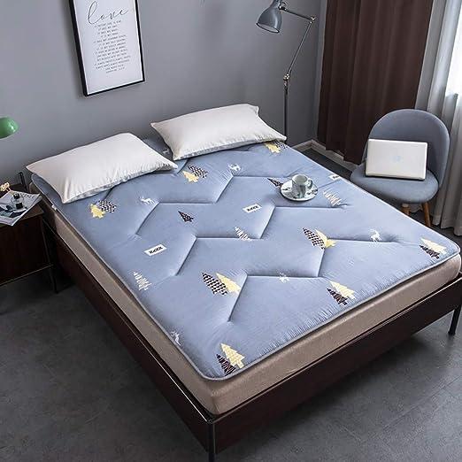 FF Futon Furniture Queen Size Negro Algodón/Espuma/Poliéster ...