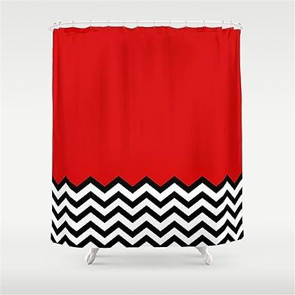 Amazon Weeya Black Lodge Dreams Twin Peaks Shower Curtain 60