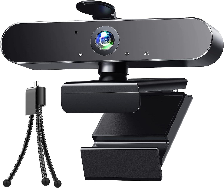 Webcam 2K HD Streaming Camera