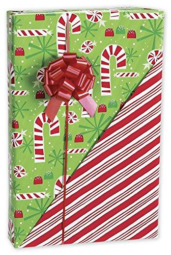 (Contempo Canes Reversible Gift Wrap, 24