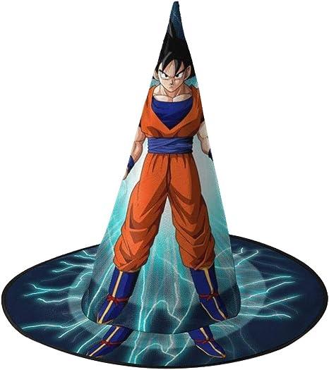 NUJIFGYTCRD Dragon Ball Z Goku con Sombrero de Bruja para ...