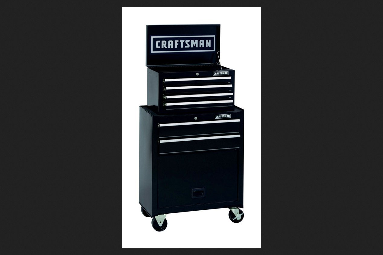 Craftsman 6 Drawer Rolling Cabinet Craftsman 6 Drawer Tool Center Rolling Steel Cabinet Chest