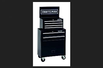 Amazon.com: Craftsman 6 Drawer Tool Center, Rolling Steel Cabinet ...