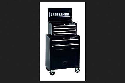 Amazon com: Craftsman 6 Drawer Tool Center, Rolling Steel Cabinet