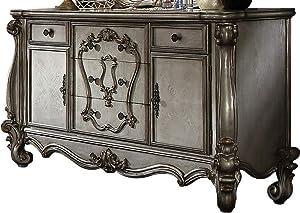 ACME Versailles Dresser - 26845 - Antique Platinum