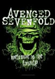 Avenged Sevenfold - Welcome to the Family - Posterflagge Fahne - 100% Polyester - Größe 75x110 cm