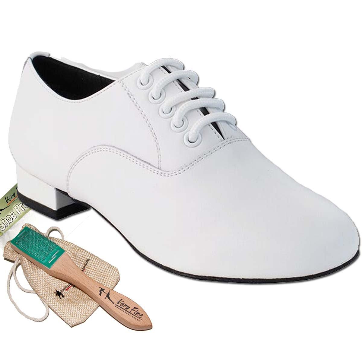 [Very Fine Dance Shoes] メンズ B076GW6J7C ホワイトレザー 13 D(M) US