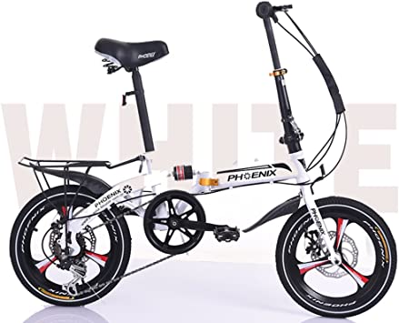 Bicicleta plegable 16 pulgadas,Bici plegable viajero para hijos ...