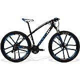 Bicicleta GTS Aro 29 Freio a Disco Hidráulico Câmbio Absolute 27 Marchas e Amortecedor com Câmara Anti Furo e Rodas de Magnésio | GTS M1 I-Vtec Magnésio