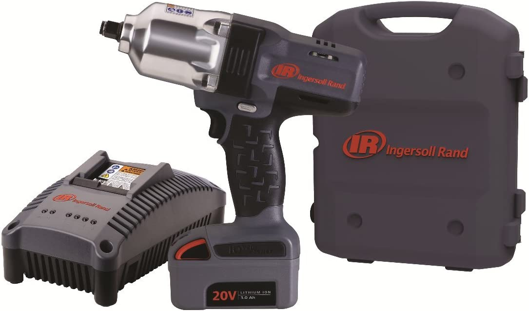 "Ingersoll Rand W7150-K1 ½"" Hi-Torque Impact One Battery Kit"