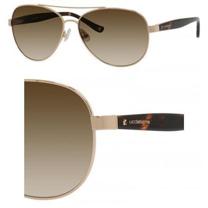 Liz Claiborne Gafas de sol 562/S 0J5G oro: Amazon.es: Ropa y ...