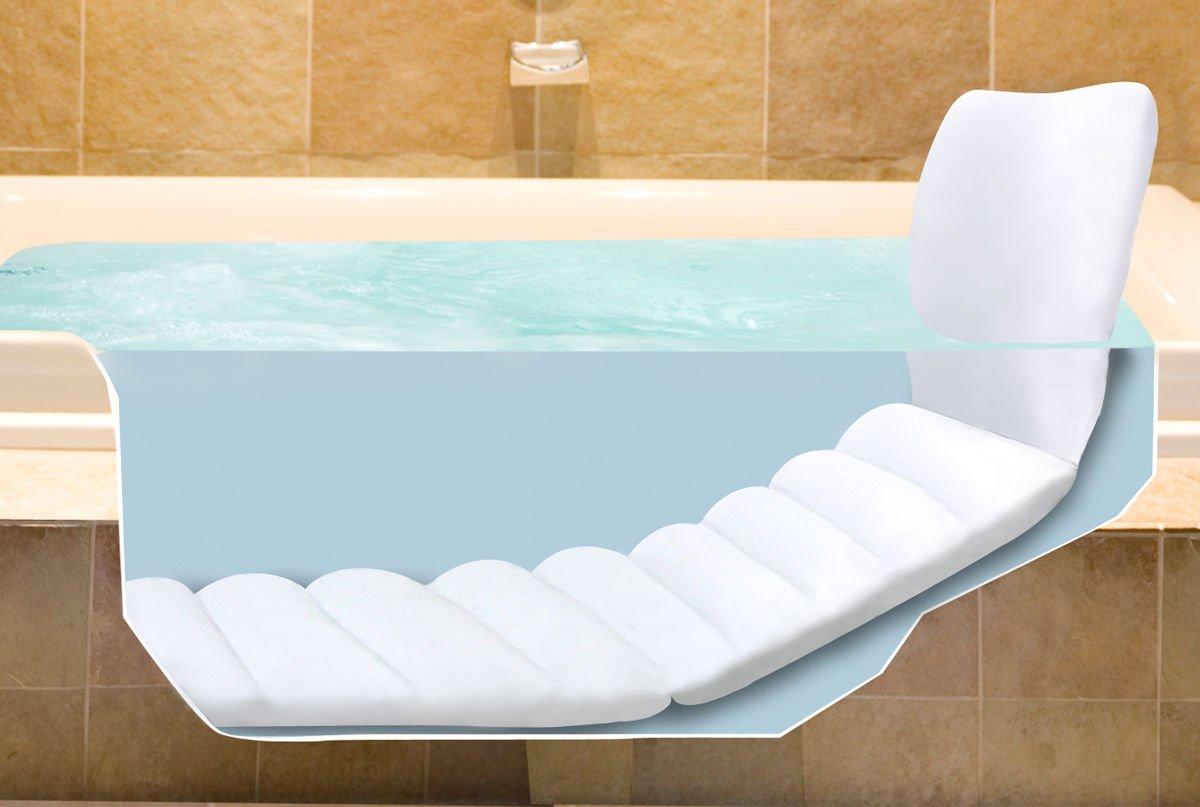 Amazon.com : Bathtub Lounger Full Body Bath Tub Cushion Comfort ...