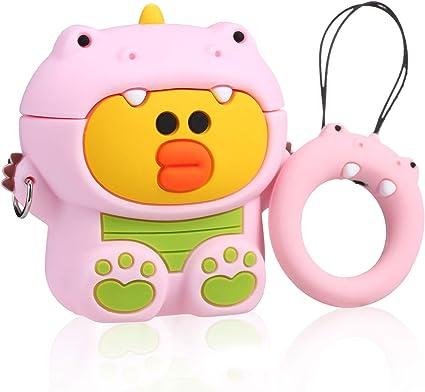 Amazon Com Joyleop Pink Dinosaur Duck Case Compatible With