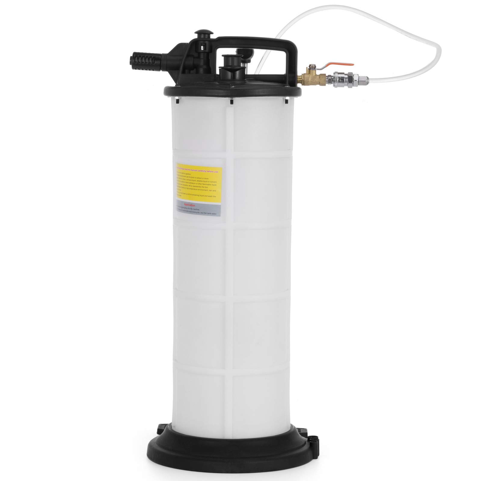 Happibuy Pneumatic Fluid Extractor 9.0 Liter Air Operated Oil Coolant Brake One 1 Man