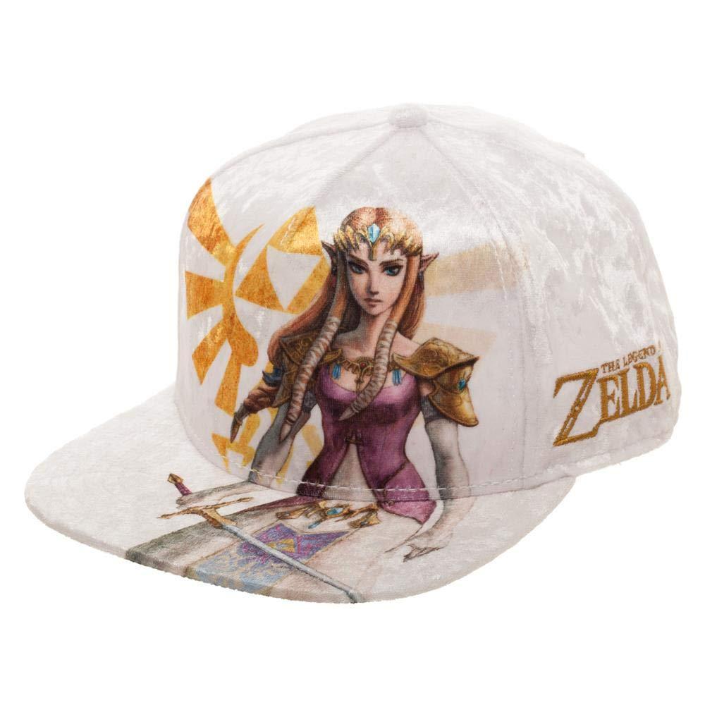 888c2a1a6 Bioworld The Legend of Princess Zelda Velvet Snapback Hat