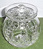 Waterford Crystal Lismore Round Biscuit Barrel Canister Cookie Jar New In Box