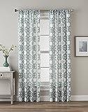 CHF 1Q82450ASE Lotus Harmony Curtain Panel, Seafoam, 95″ Review