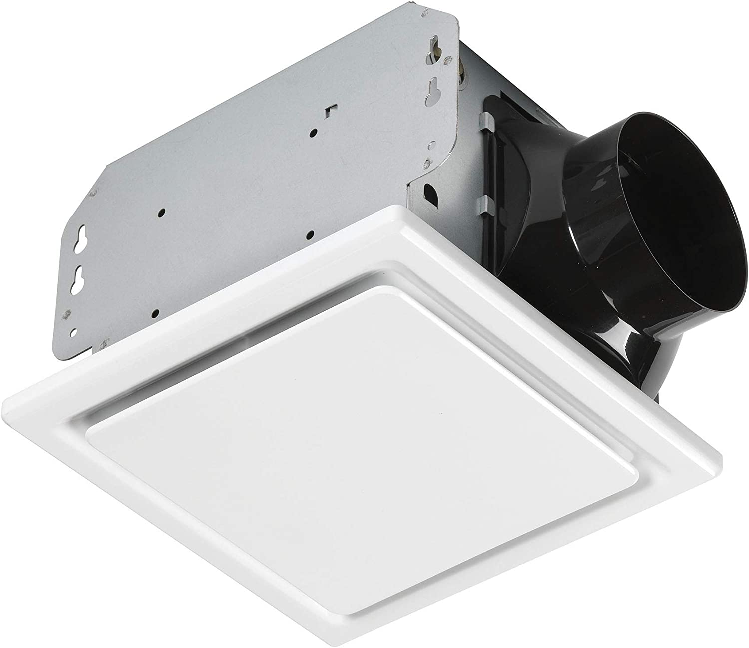 Homewerks Worldwide 7140-80 Bathroom Fan Ceiling Mount Exhaust Ventilation 1.5 Sones 80 CFM, White