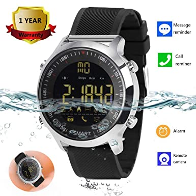 ... Smart Watches for Men Women Boys Kids Android iOS iPhone Samsung Huawei LG BLU ASUS Motorola ZTE with Pedometer Fitness Tracker SMS Call Reminder: Cell ...
