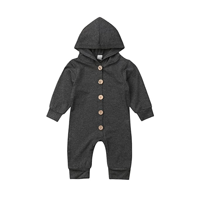 5c1e30e52 Amazon.com  liberalism Newborn Baby Boys Girls Hooded Long Sleeve ...