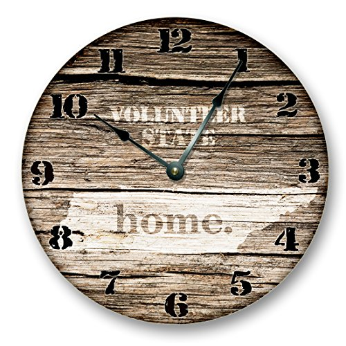 (TENNESSEE STATE HOMELAND CLOCK -VOLUNTEER STATE - Large 10.5