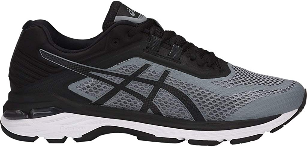 ASICS Men s GT-2000 6 4E Running Shoes, 15XW, Stone Grey Black White