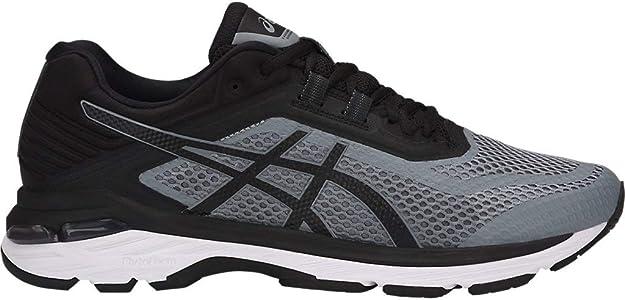 ASICS Men's GT-2000 6 Running Shoes, 6M, Stone Grey/Black/White