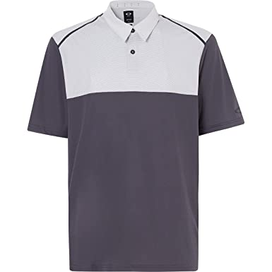 Oakley Mens Polo Shirt Ss Color Block, Forged Iron, M: Amazon.es ...