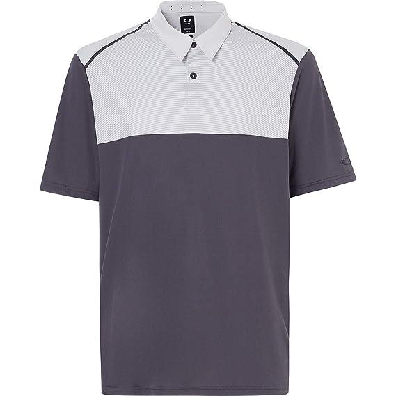 Oakley Mens Polo Shirt Ss Color Block, Forged Iron, XXXL: Amazon ...