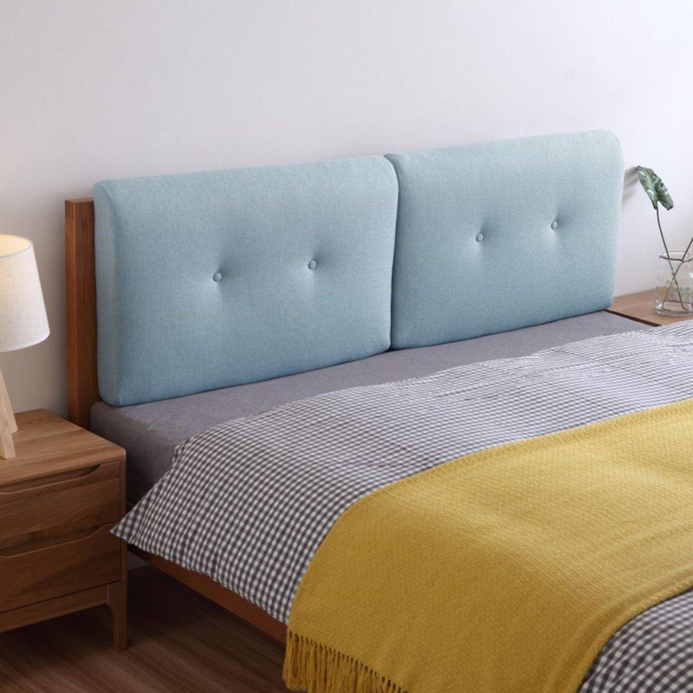 QIANGDA クッション ベッドの背もたれヘッドボード リネン スポンジライニング バンパー ウォッシャブル ダブルベッド、 10色、 4サイズあり、 1項目 (色 : 3#, サイズ さいず : 75 x 50 x 10cm) B07D3PGDC9 75 x 50 x 10cm|3# 3# 75 x 50 x 10cm