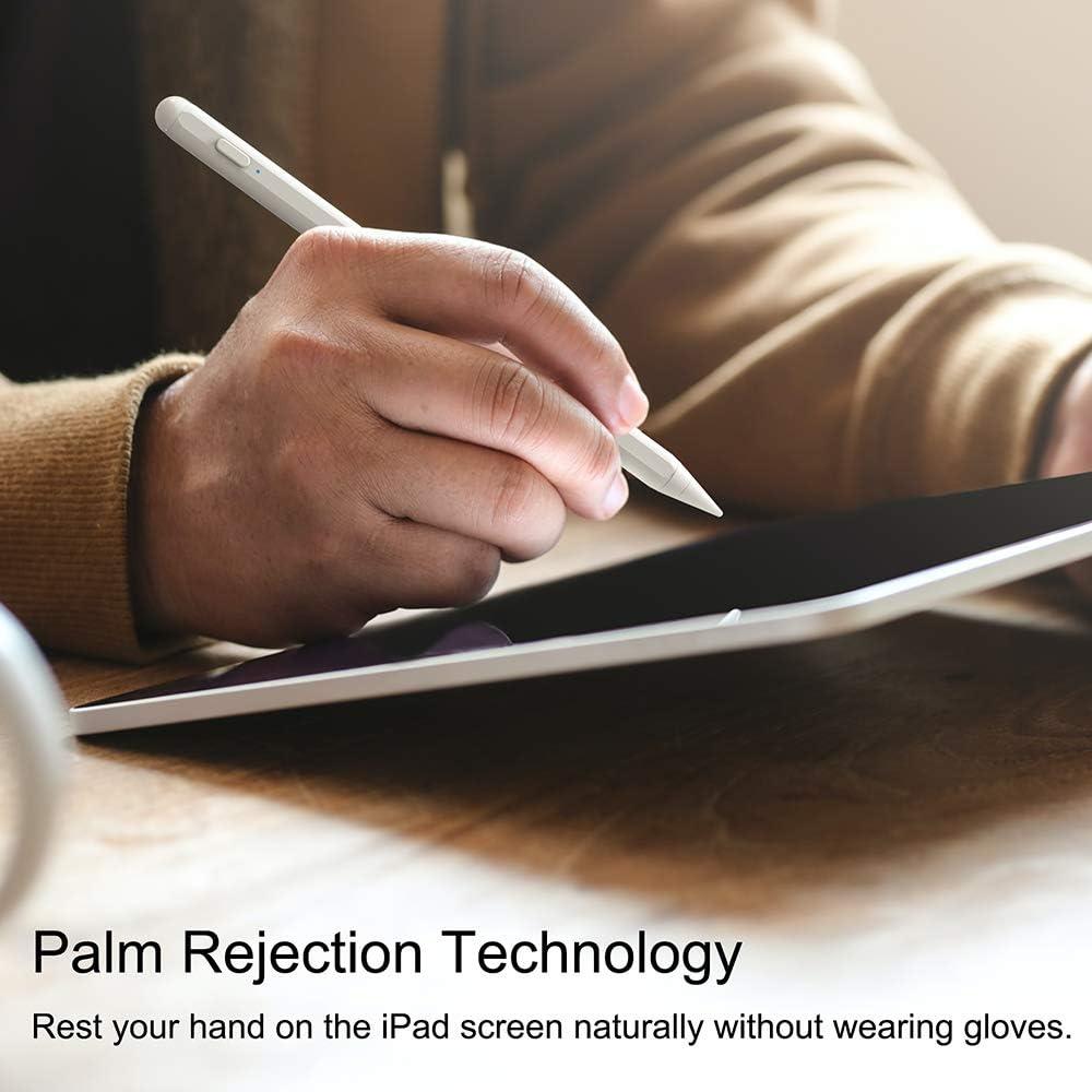CiSiRUN Stylus Pen Stylus Stift mit Palm-Ablehnung f/ür iPad 2018-2020 und neuen iPad-Stift der zweiten Generation mit Magnetismus und Stiftspitze 1,0 mm hoher Empfindlichkeit ohne Kratzbildschirm