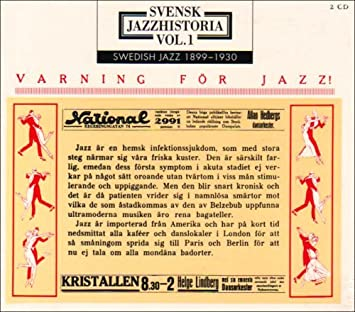 Image result for Vol. 1 – Swedish Jazz 1899-1930 (Caprice 22037