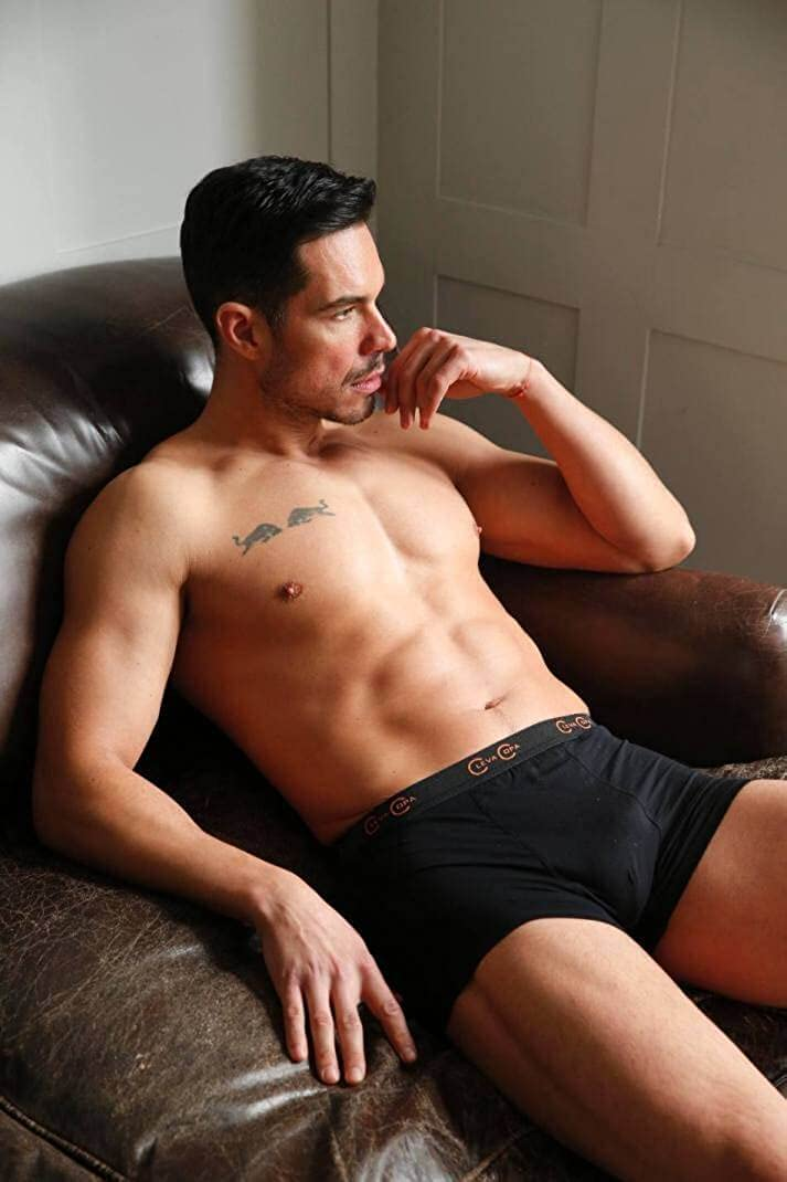 Anti-Microbial Copper Infused Boxer Briefs La Source Mens Copper Boxer Shorts Stay Fresher for Longer