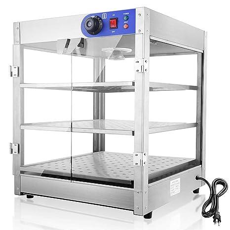 Amazon.com: WeChef - Calentador de pizza de 3 niveles para ...