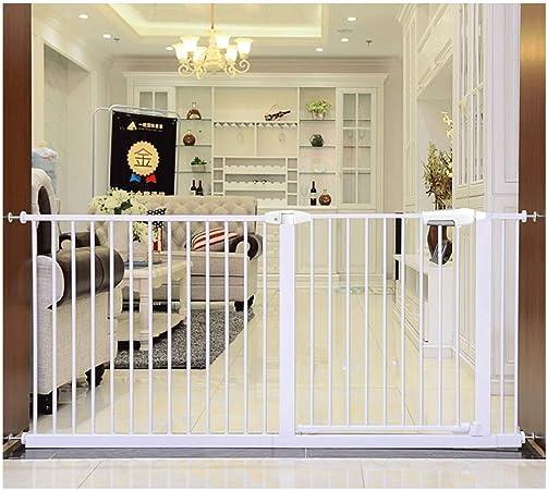 Telescópica Bebé Puertas De Valla Escaleras Puerta For Mascotas Cerca De Aislamiento De La Puerta Libre De Perforación De Doble Bloqueo De Cierre Automático (Color : High78CM , Size : 176-185cm) : Amazon.es: Hogar