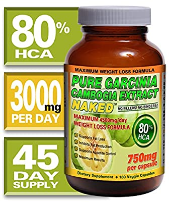 180 Capsules. 100% Garcinia Cambogia, Extra Strength. 100% Lifetime Money Back Guarantee - Order Risk Free!