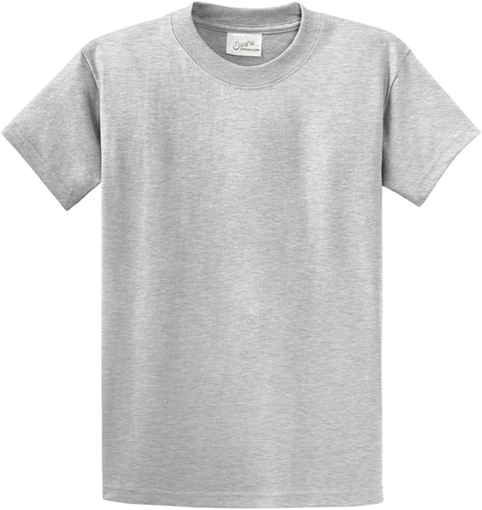 Joe's USA Youth Cotton T-Shirts in 37 Colors - Heavyweight 6.1-Ounce, 100% Cotton T-Shirts