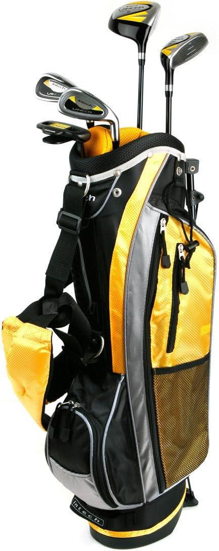 Intech Lancer Junior Golf Club Set (Yellow, Ages 3-7)