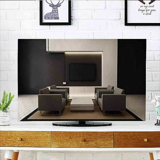 Analisahome Proteja su TV Cocina con Muebles Negros y Suelo de ...