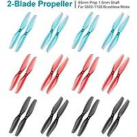 FancyWhoop Gemfan 65mm 2-Blade Props con 1.5mm Shaft