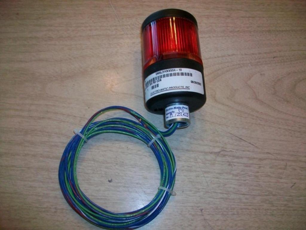 Electro-Matic EMSL31VXXXX410 Stack Light EMSL31VXXXX4-10