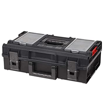 Werkstattkoffer Werkzeugkoffer 16,5 Liter Werkstatttasche leer 50 kg Traglast