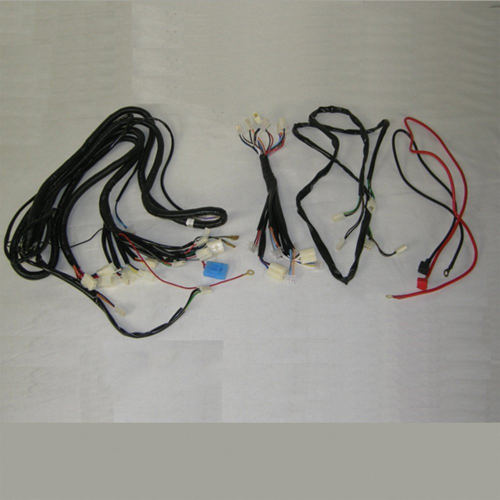 Amazon.com: Kandi OEM Wire Harness for 150cc and 200cc ... on series and parallel circuits diagrams, pinout diagrams, internet of things diagrams, gmc fuse box diagrams, battery diagrams, switch diagrams, honda motorcycle repair diagrams, transformer diagrams, friendship bracelet diagrams, hvac diagrams, lighting diagrams, motor diagrams, troubleshooting diagrams, smart car diagrams, electronic circuit diagrams, sincgars radio configurations diagrams, led circuit diagrams, electrical diagrams, engine diagrams,