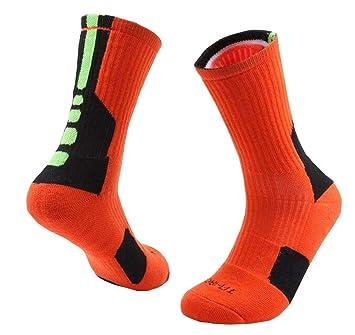 Niño Baloncesto Calcetines Mujer / Hombres Sudor Absorber Calcetines Calcetines Deportivos: Amazon.es: Deportes y aire libre