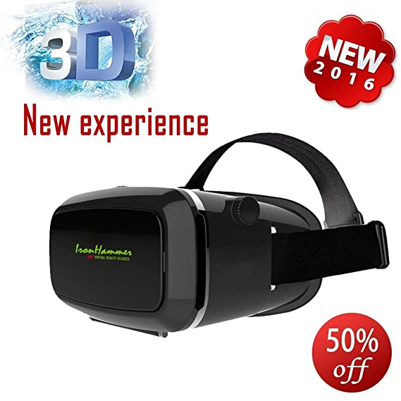 a599be0ccfe Amazon.com  Iron Hammer®google Cardboard 3d Glasses