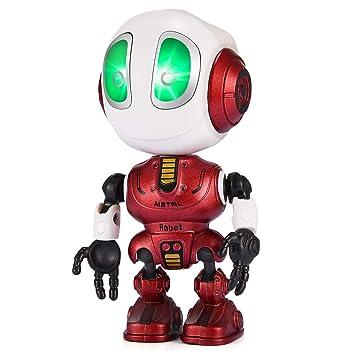 Juguetes 8 Anos Nina.Eutoyz Talking Robot Repite Lo Que Dices Juguetes Educativos Para Ninos De 3 A 8 Anos