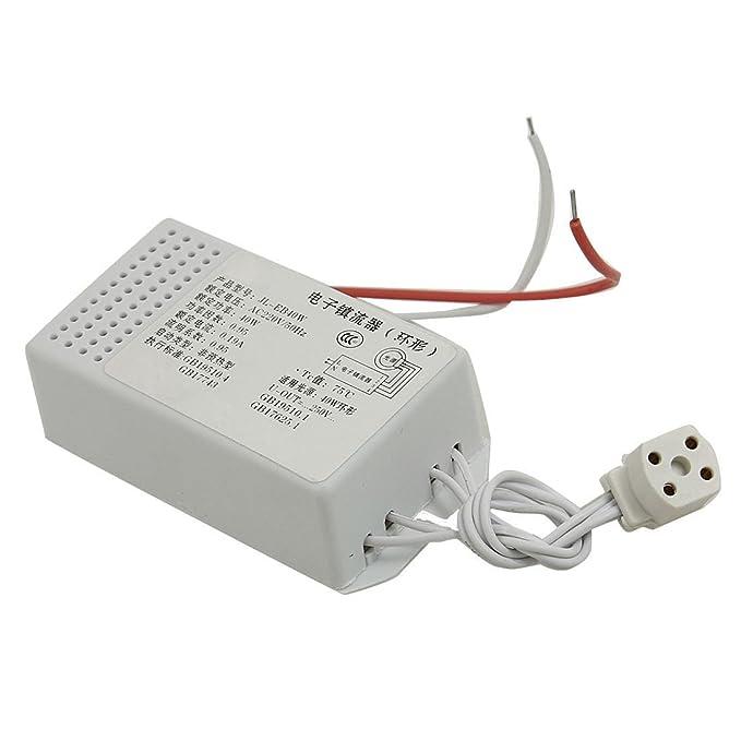 13 opinioni per SODIAL (R) 40W Tubo Anello Lampada fluorescente Reattore elettronico AC 220V